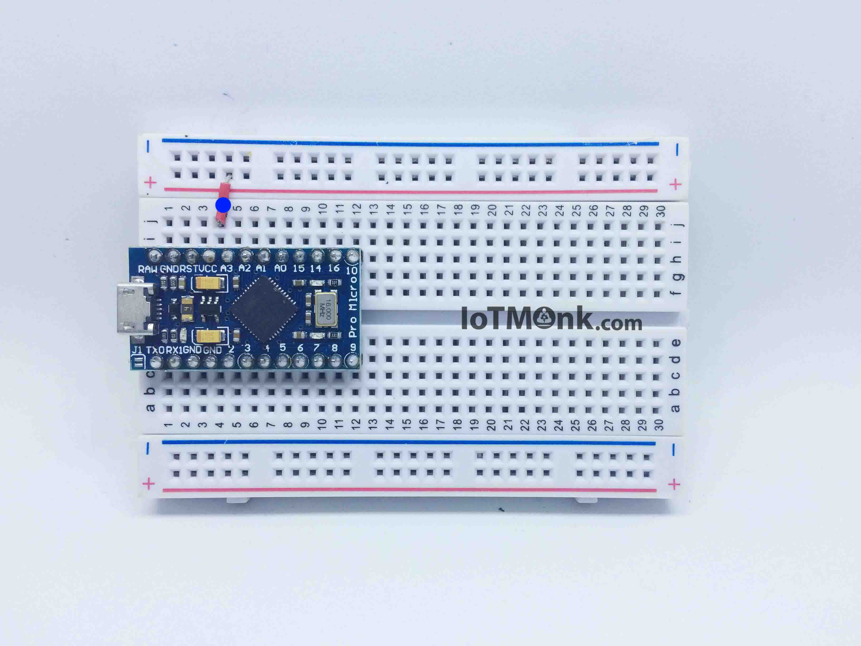 Arduino-Leonardo-Pro-Micro-On-Breadboard-tutorial-stepwise