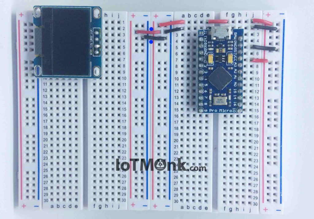 Arduino-Leonardo-Pro-Micro-With-128X64-OLED-Display-Tutorial-On-Breadboard (9)