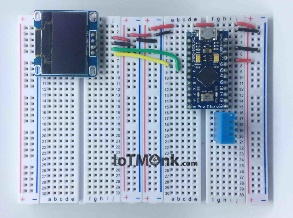 Arduino-Leonardo-Pro-Micro-with-DHT11-and-128x64-OLED-display-tutorial (3)