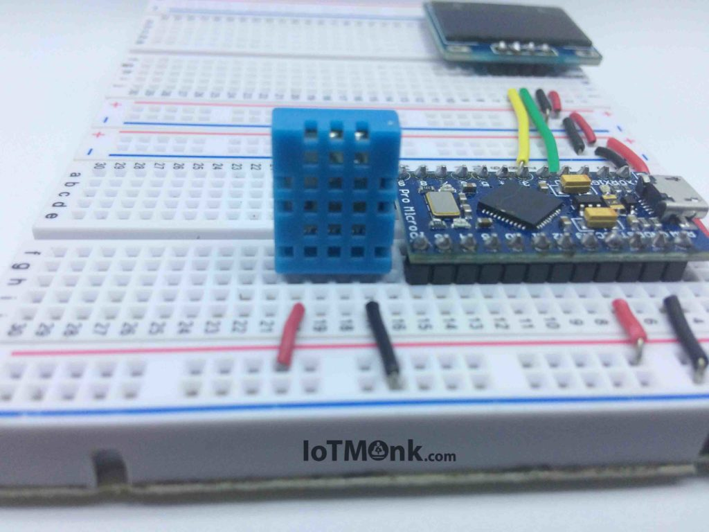 Arduino-Leonardo-Pro-Micro-with-DHT11-and-128x64-OLED-display-tutorial (5)
