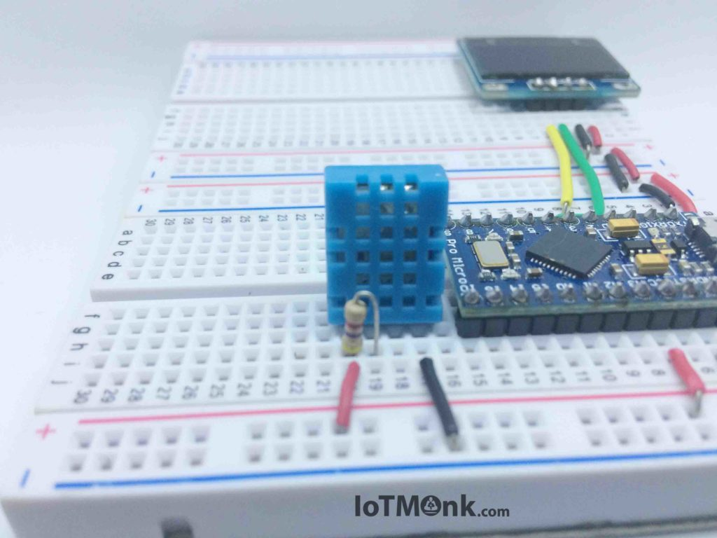 Arduino-Leonardo-Pro-Micro-with-DHT11-and-128x64-OLED-display-tutorial (6)
