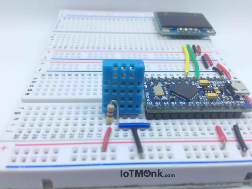 Arduino-Leonardo-Pro-Micro-with-DHT11-and-128x64-OLED-display-tutorial (7)