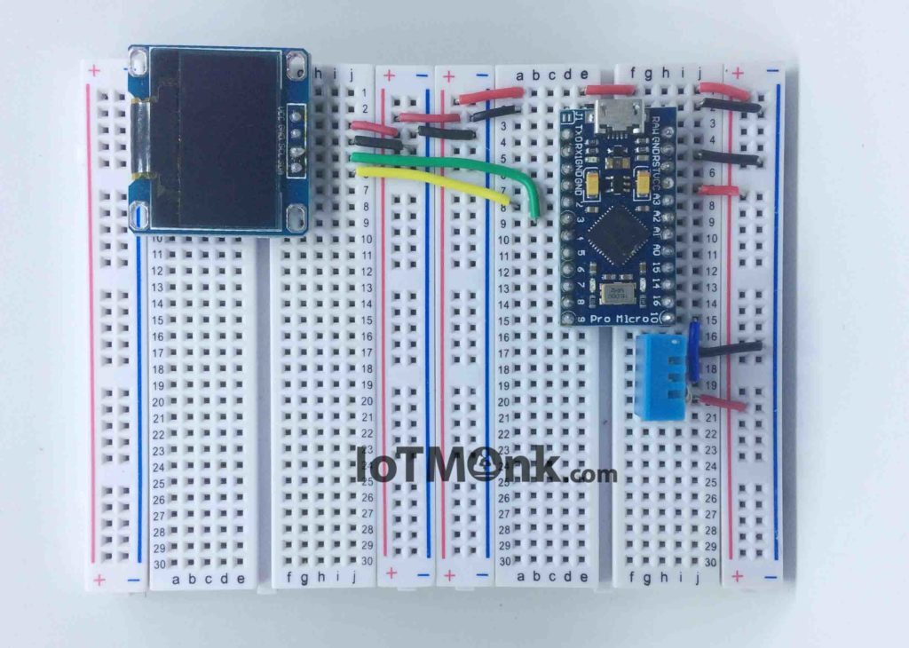 Arduino-Leonardo-Pro-Micro-with-DHT11-and-128x64-OLED-display-tutorial (8)