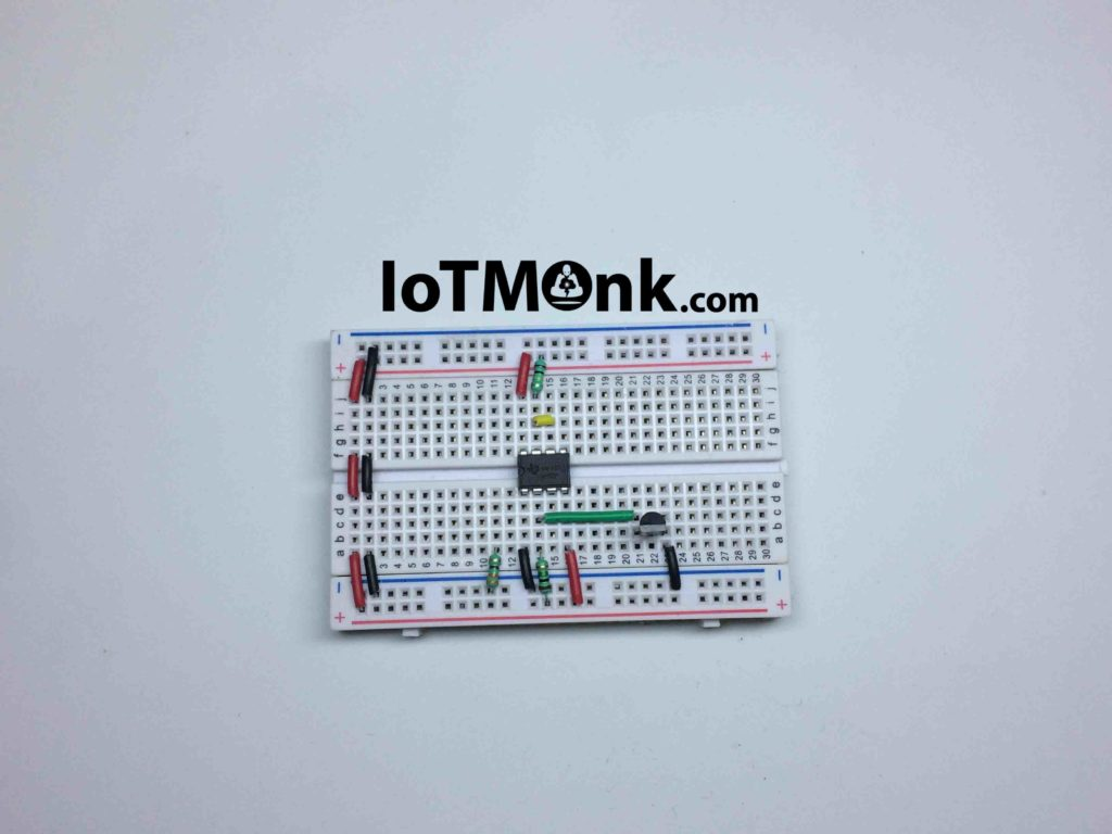 555 Timer Ic Touch Switch 100 Times Sensitive Breadboard Tutorial Circuits 3
